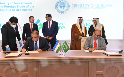 The Ministry of Energy and ACWA Power achieve momentous milestones as Uzbekistan enhances its clean energy capacity