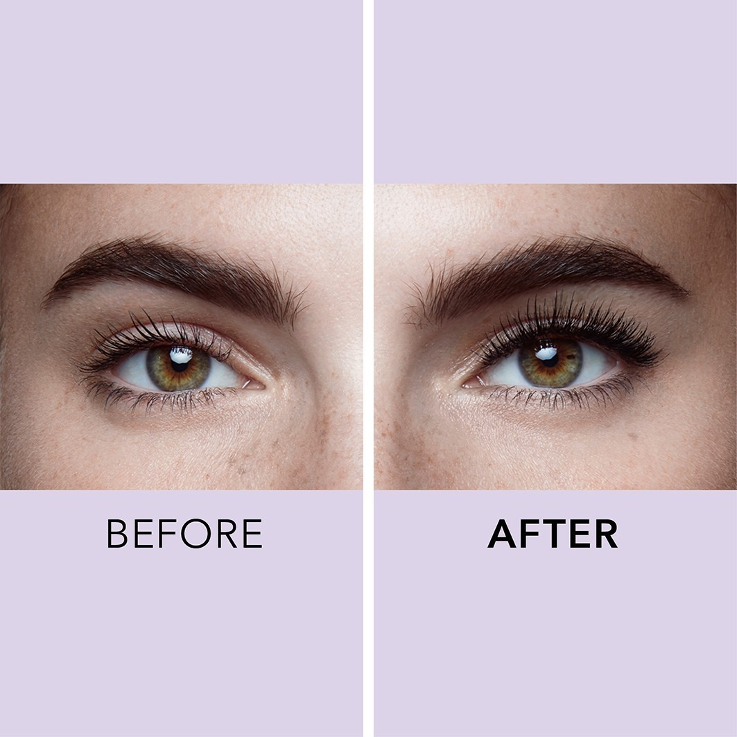 Douglas-collection-makeup-eyes-mascara-lash-love-lash-love-mascara-toolbox-2020-before-after-eyes-1063x1063px - Web Rendition