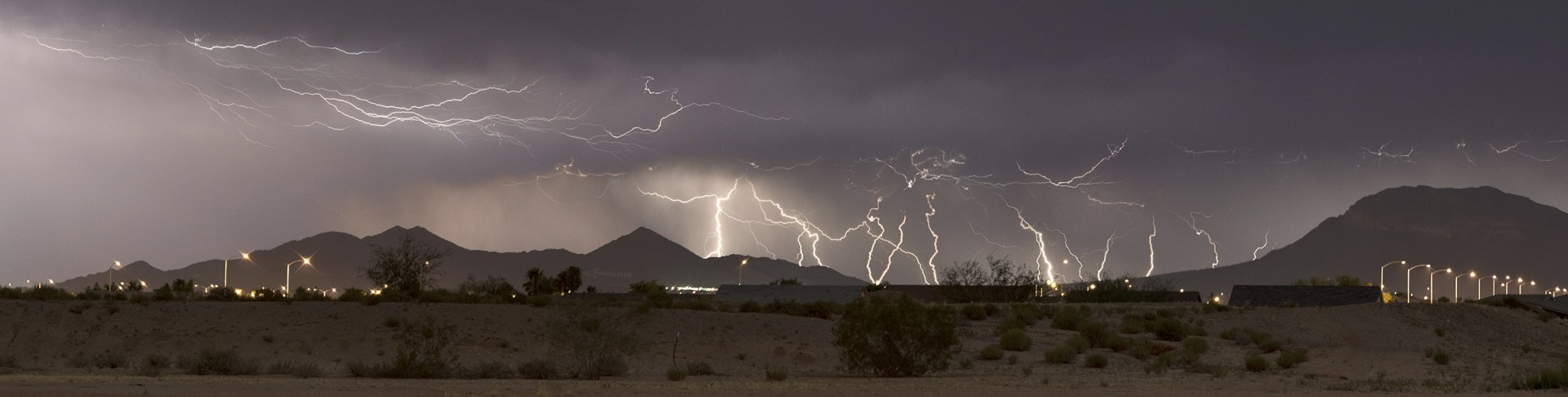 Summer Storm Lightning Picture
