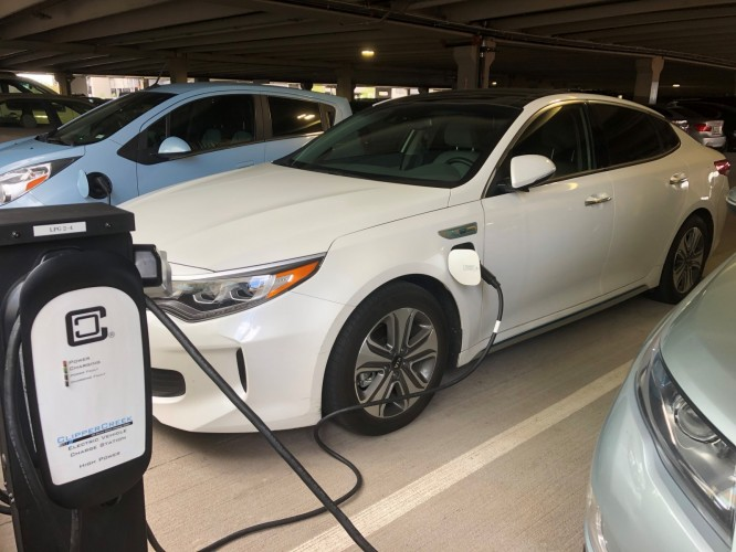SRP Workplace EV Charging Rebate