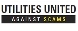 Utilities United Against Scams Logo