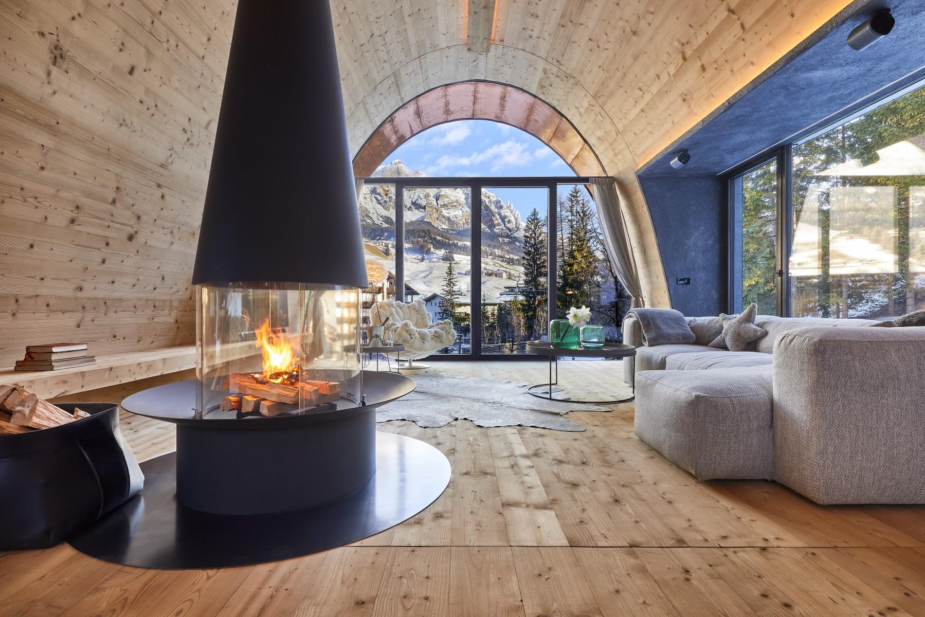 Architect Hotelier Karl Heinz Castlunger S Green Design Mi Chalet