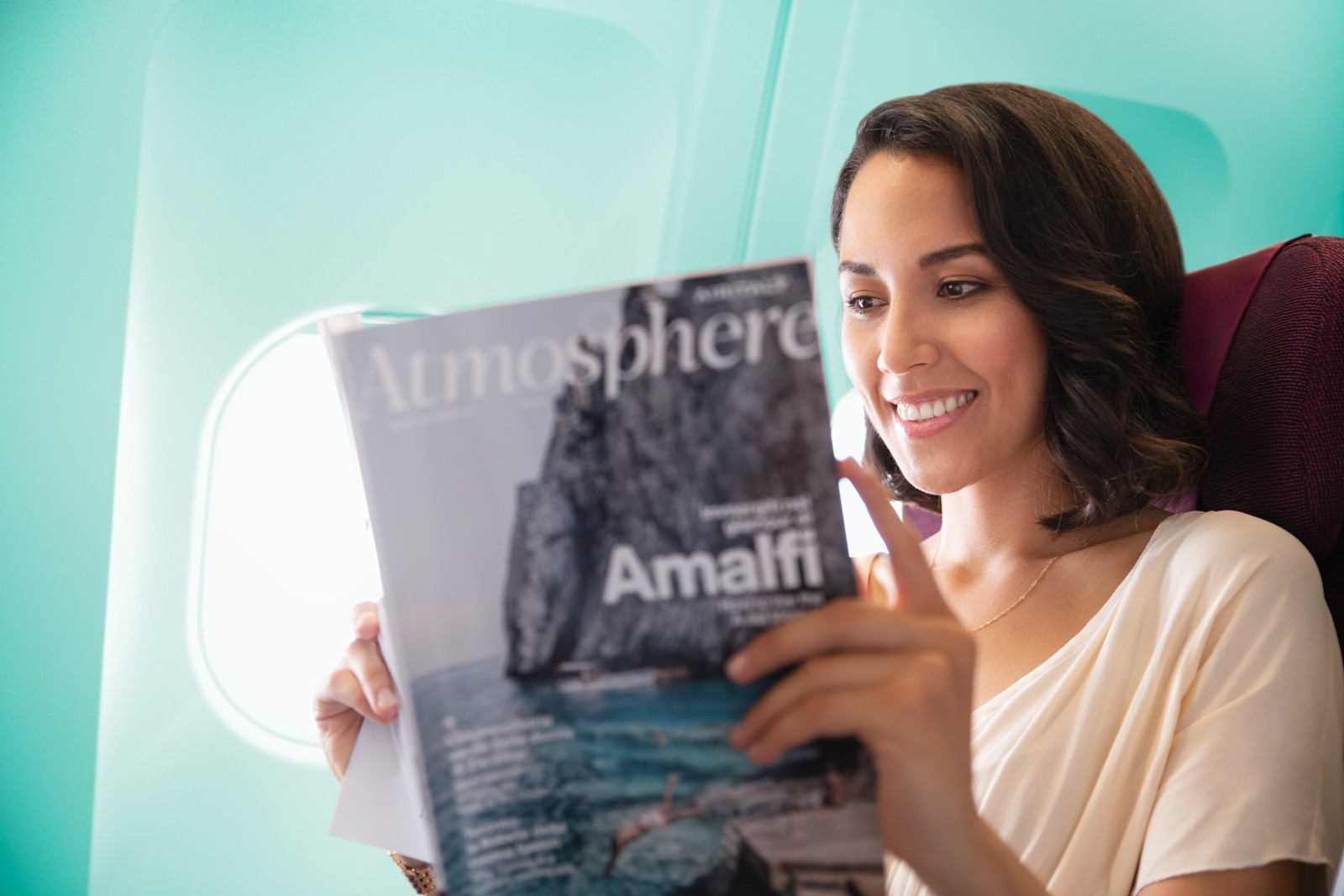 Air Italy in flight magazine Atmosphere