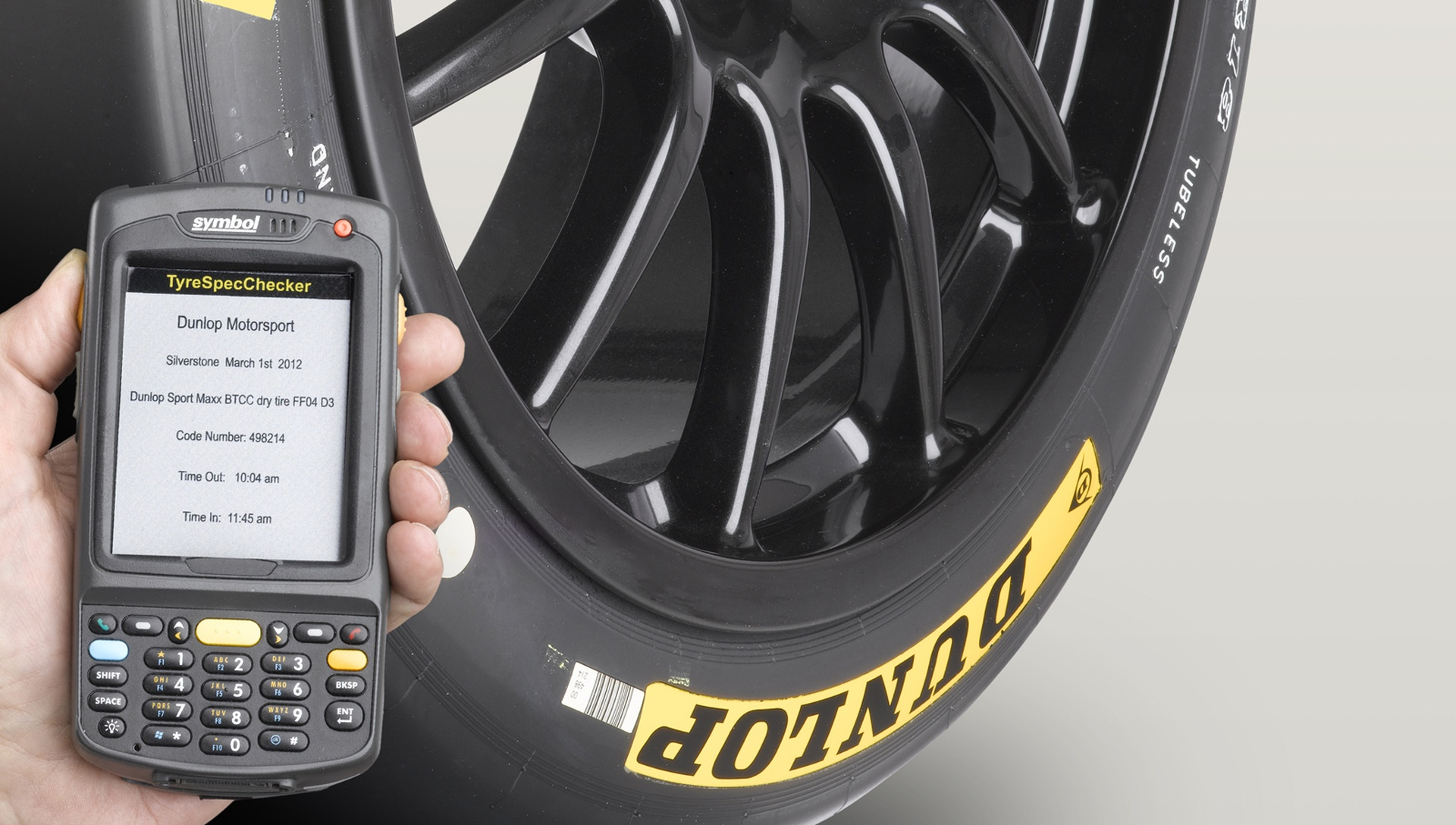 Goodyear Dunlop Innovation RFID Technology in Tire