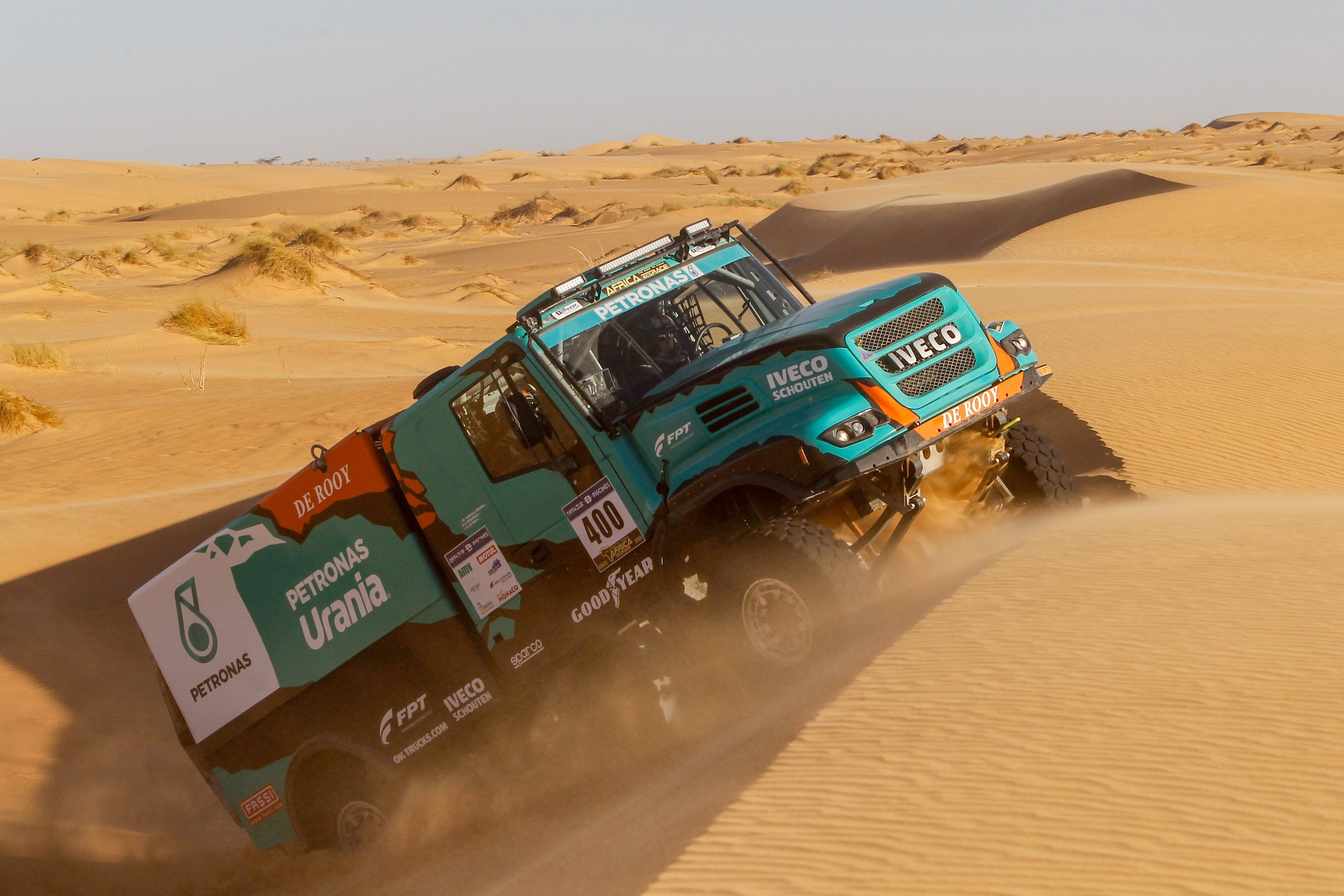 Petronas Team De Rooy Iveco on Goodyear Tyres