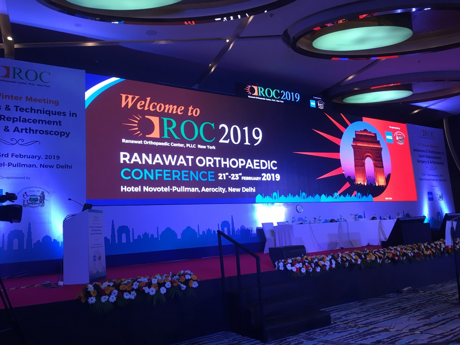 HSS Co-sponsors Orthopaedic Conference in India