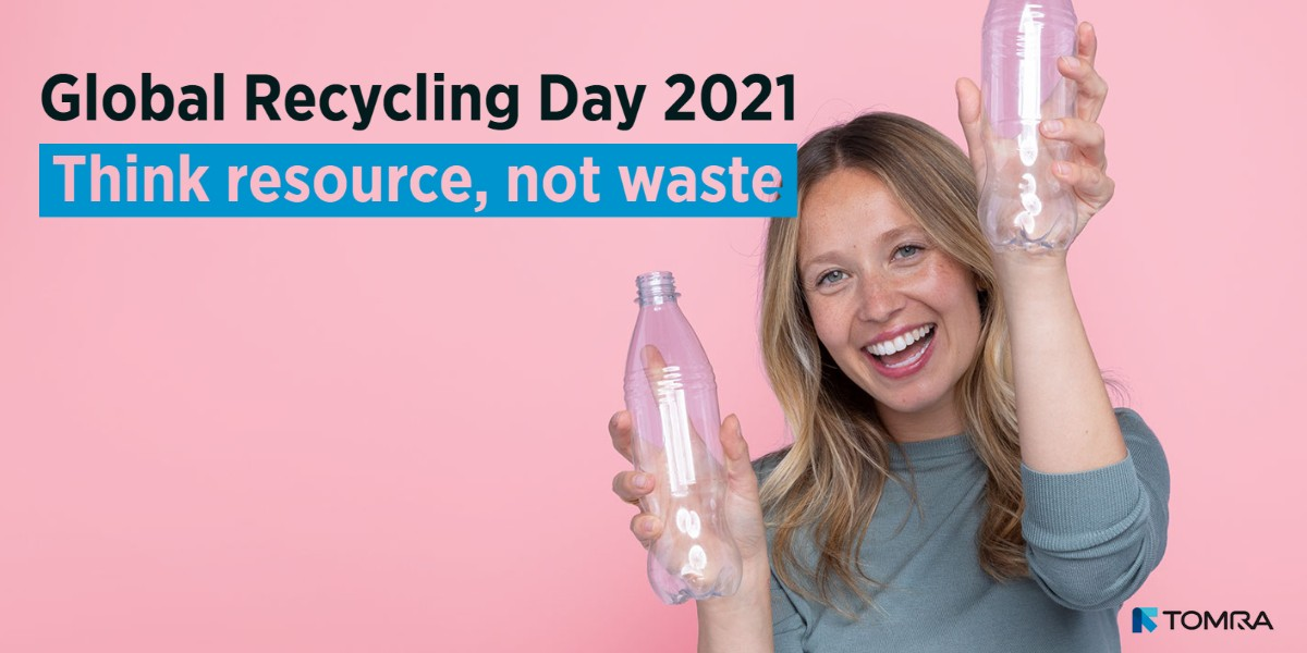 Recycling Day - Think resource, not waste - Facebook+LinkedIN