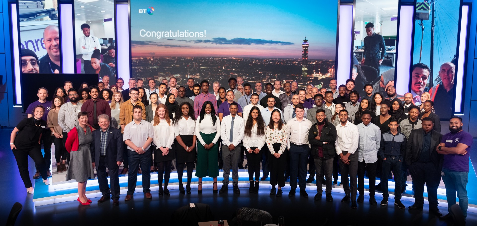 A group of 45 young people from across London have graduated from the latest BT Work Ready programme