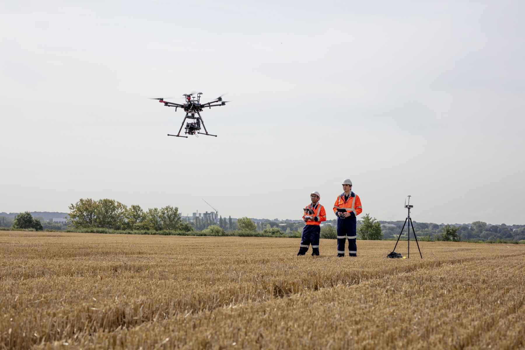 Drone for infrastructure inspection - National Grid2