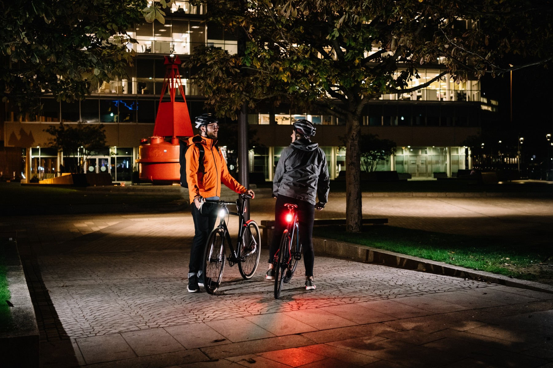 Two trials have been running in Manchester using smart IoT bike lights