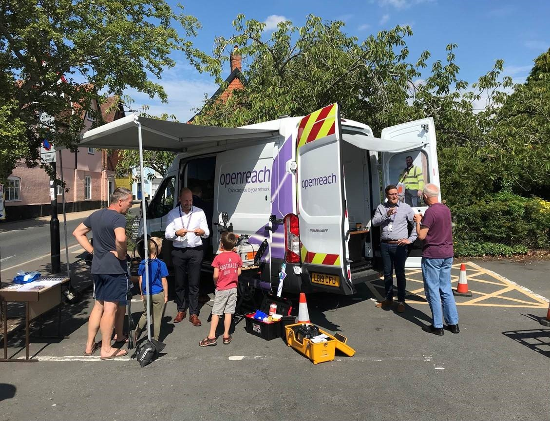 Bungay residents find out more about full fibre