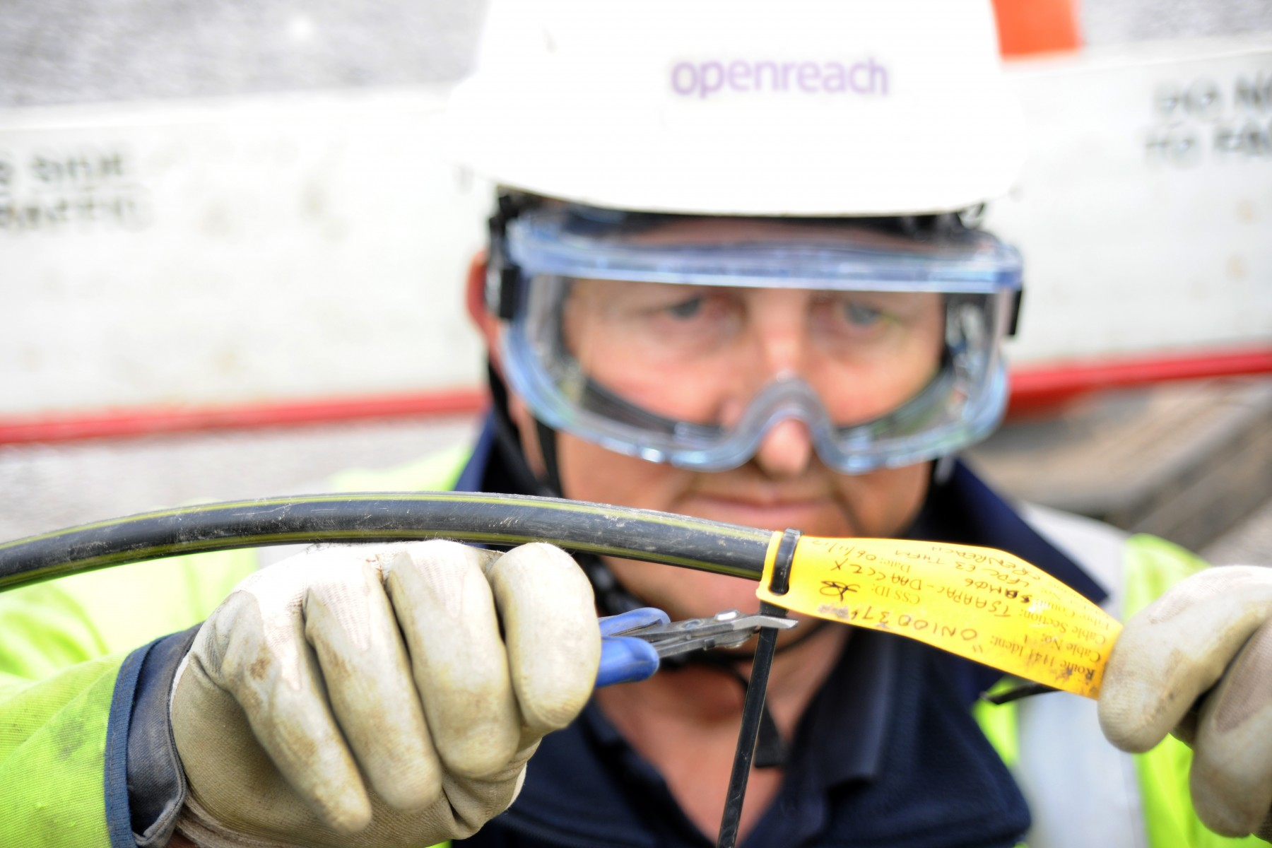 Openreach at work