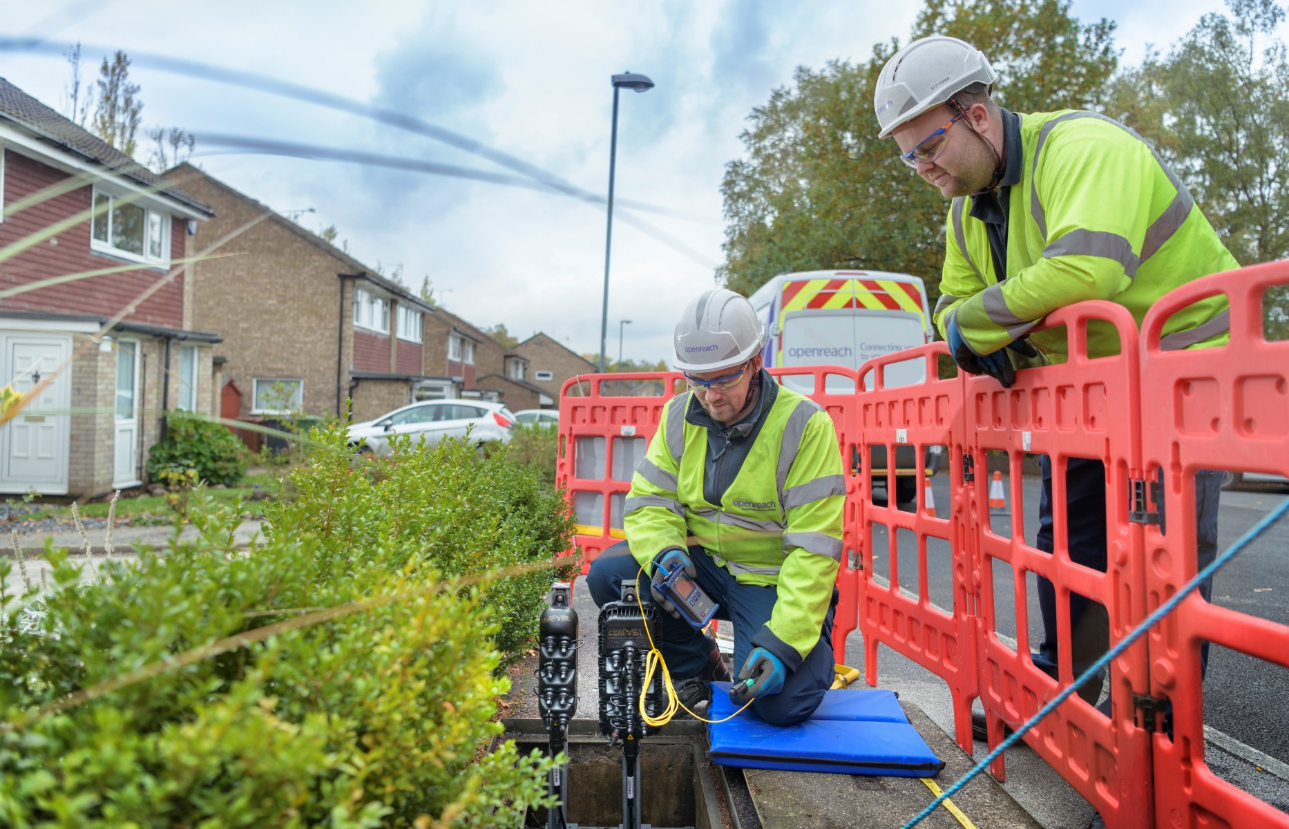 Openreach Engineer FTTP