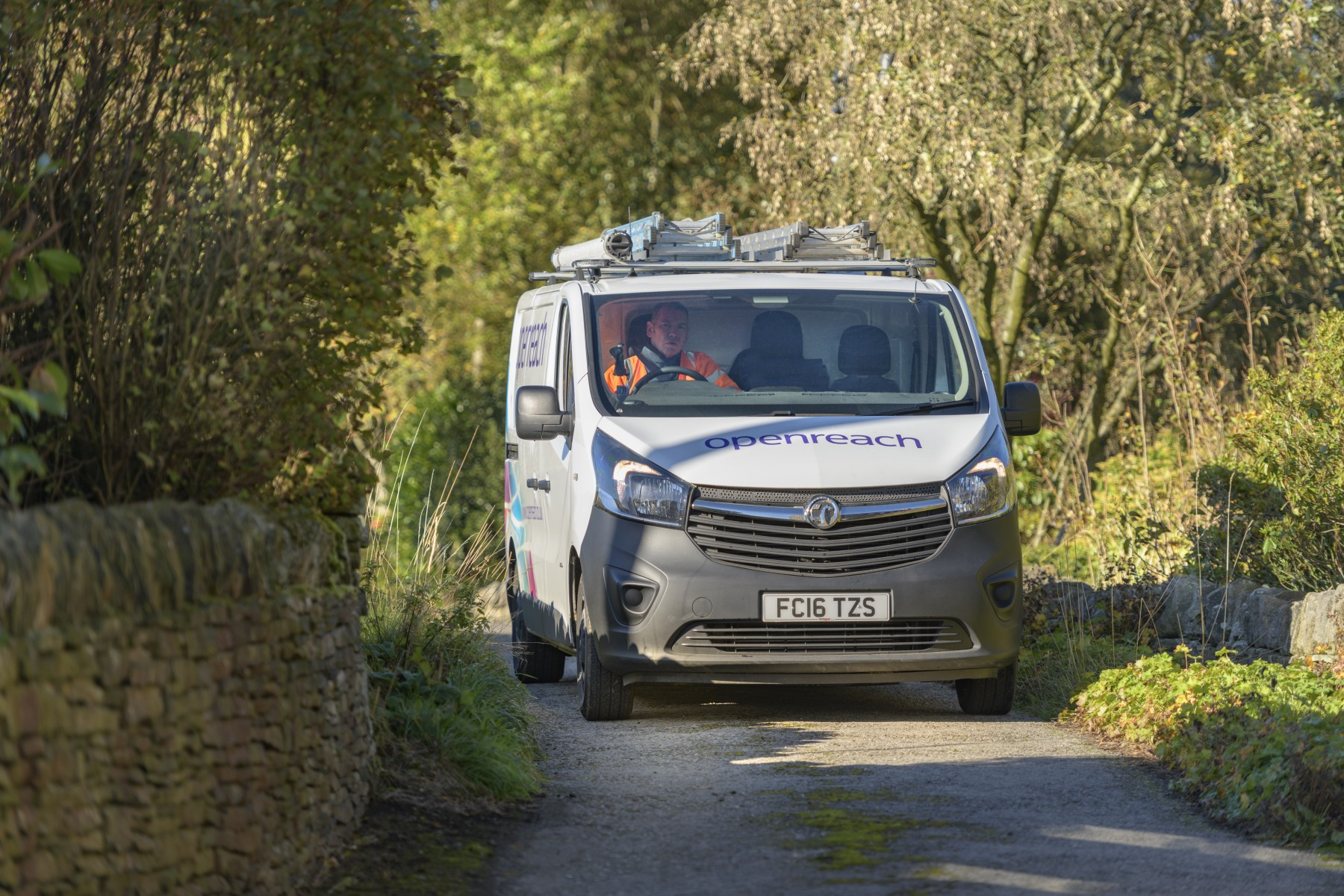 Openreach van3 - rural setting