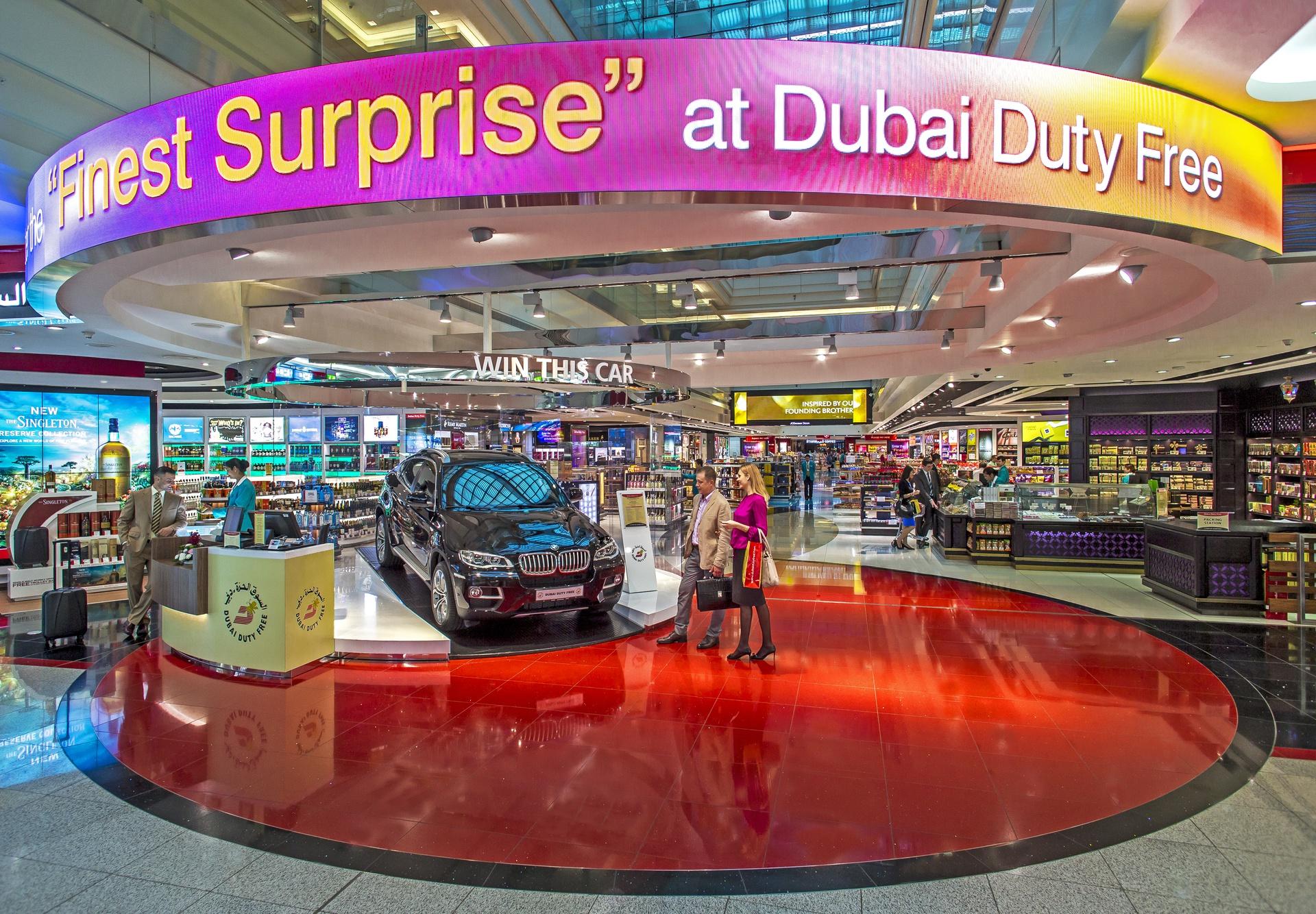 dubai duty free shops in international airport