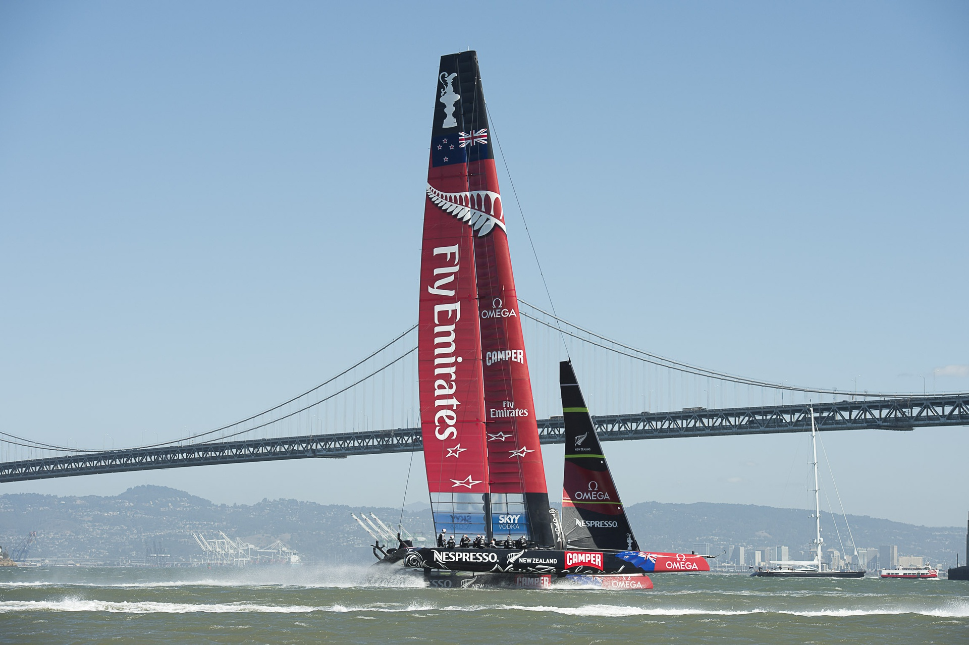 Emirates announces its renewed commitment to Emirates Team New Zealand