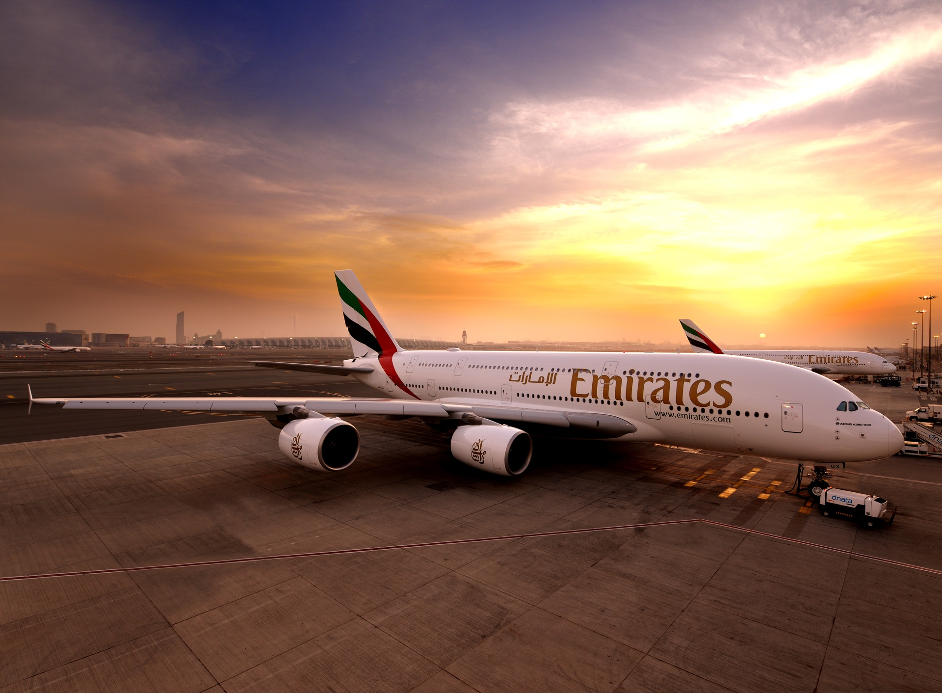 Emirates starts second A380 to Johannesburg
