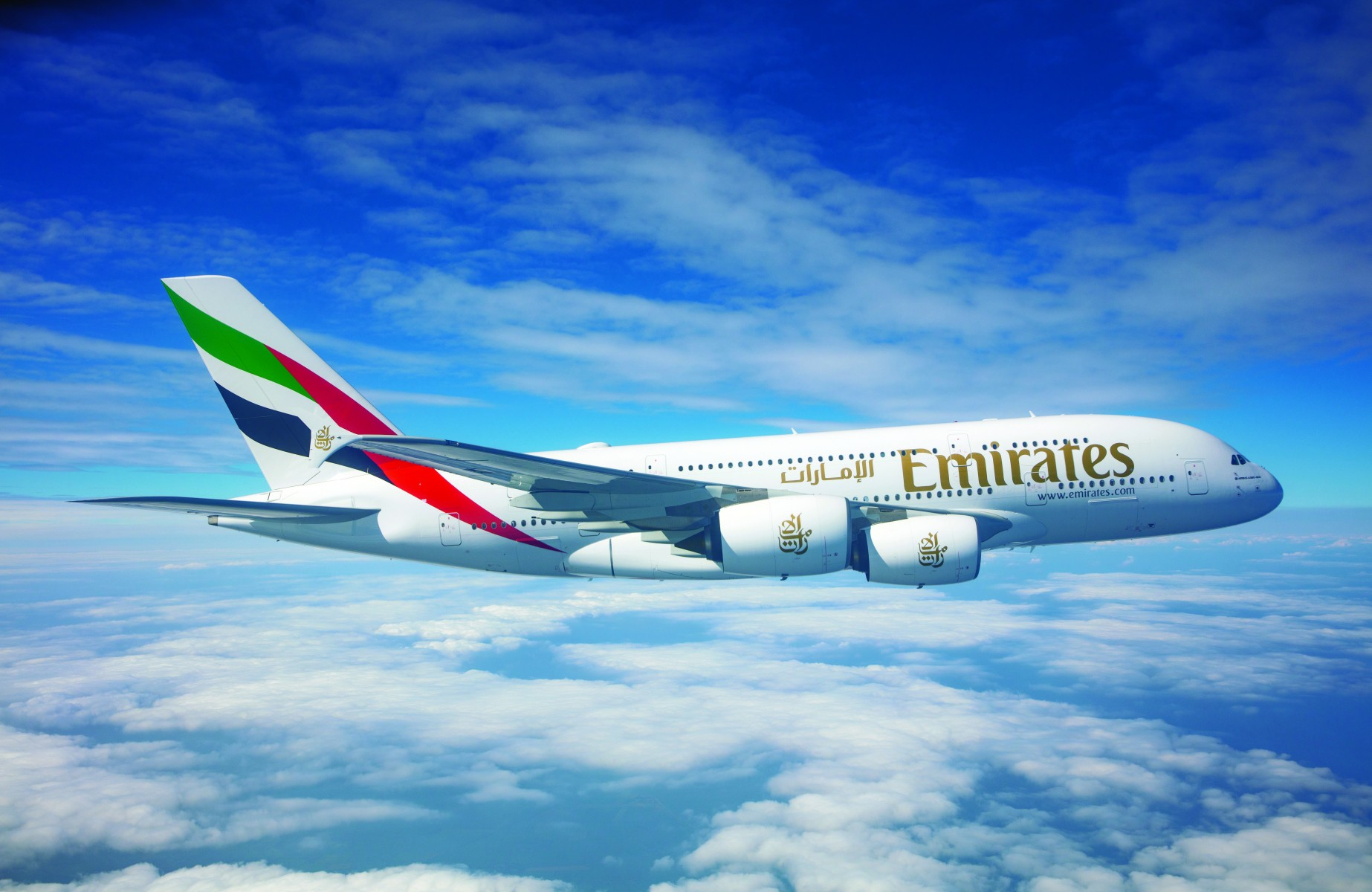 Emirates announces its first A380 service to Cairo