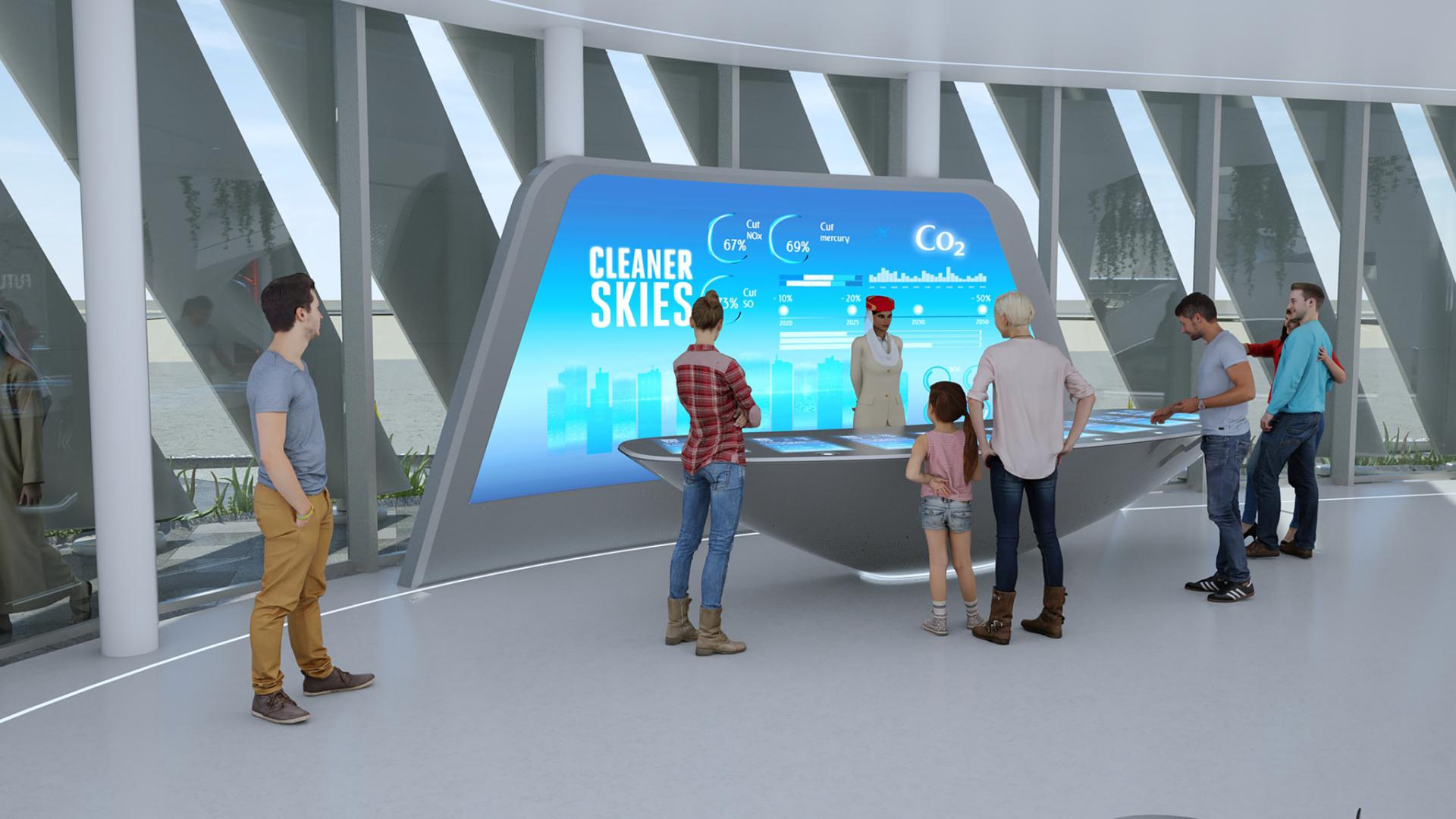 Emirates offers a sneak peek inside its Expo 2020 pavilion