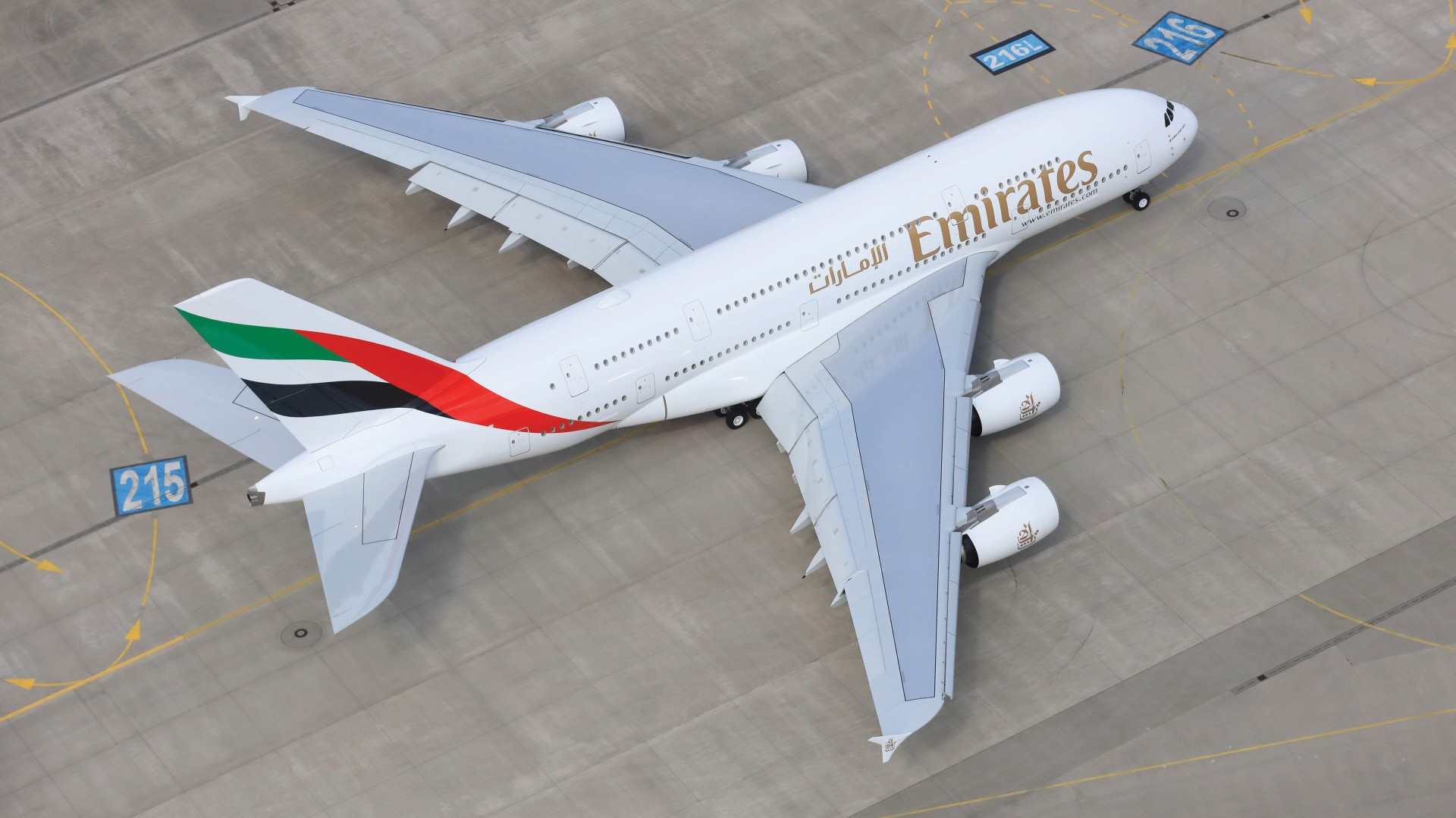 Emirates receives last A380 in November 2021