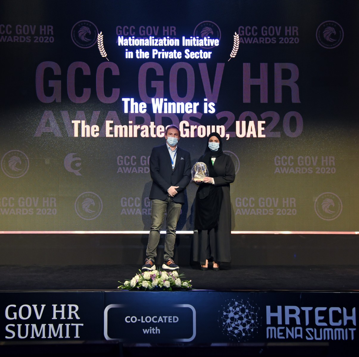 Emirates Group wins GCC GOV award for 'Best Nationalisation Initiative in the Private Sector 2020'