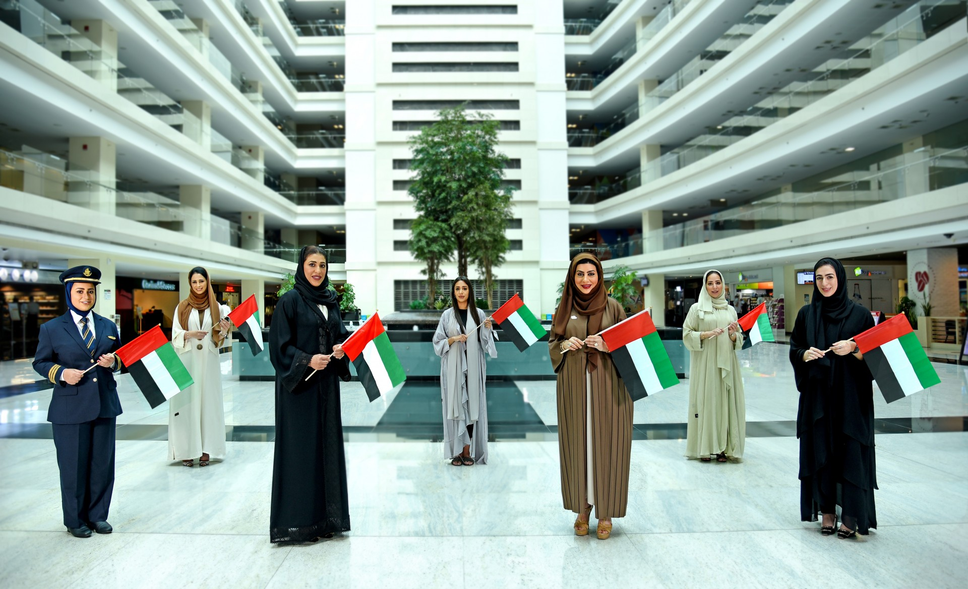 Emirates Group celebrates the contributions of Emirati Women to the nation's development