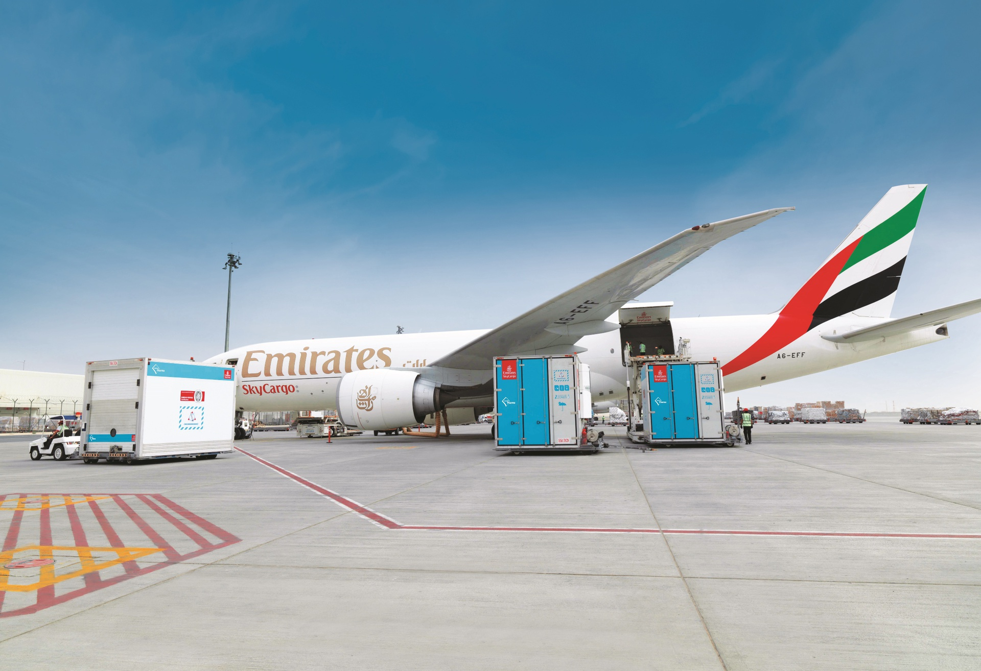 Emirates SkyCargo offers enhanced protection for pharmaceutical cargo with  pharma corridors