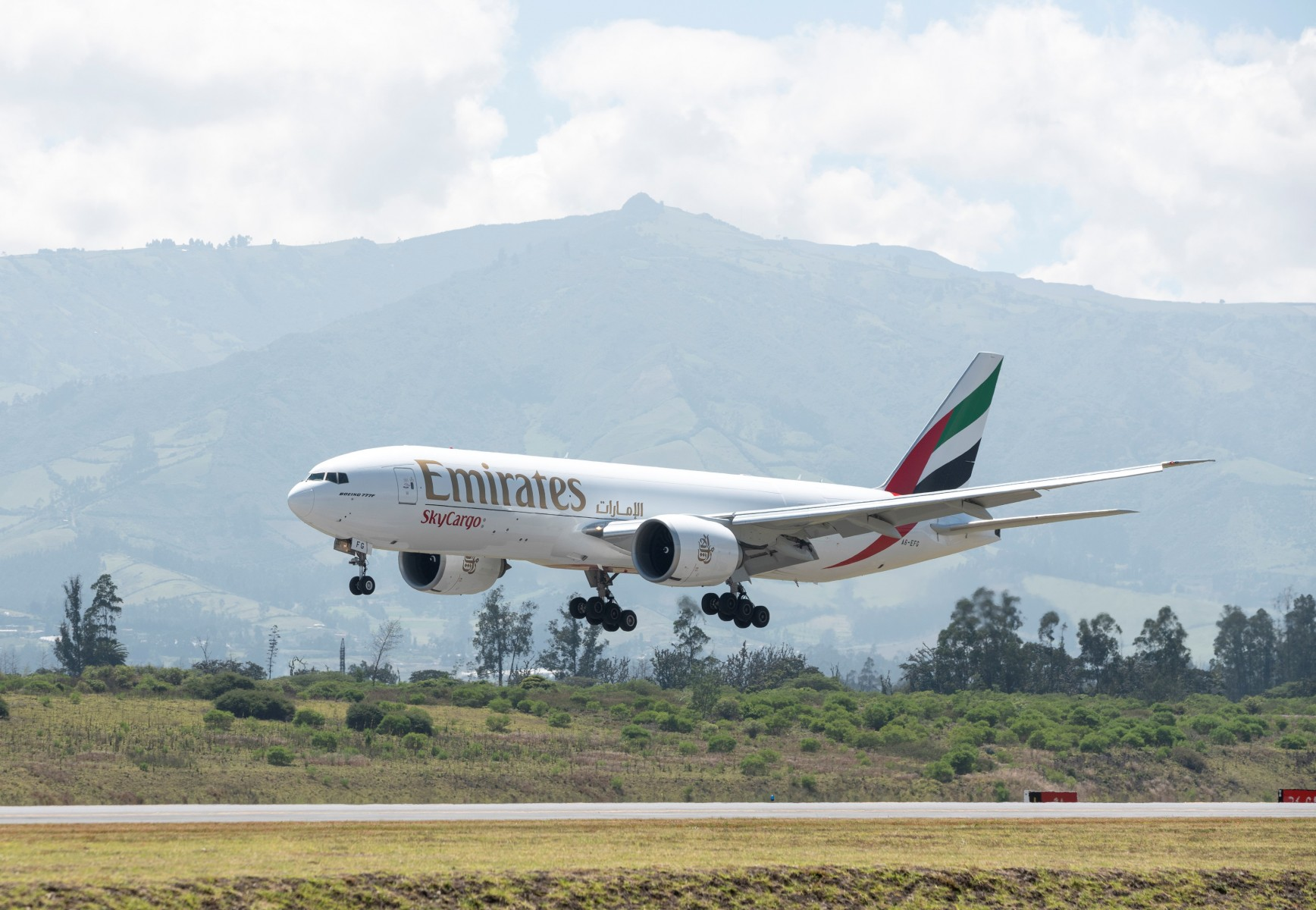 Emirates SkyCargo Freighter- supporting farming communities by transporting food produce