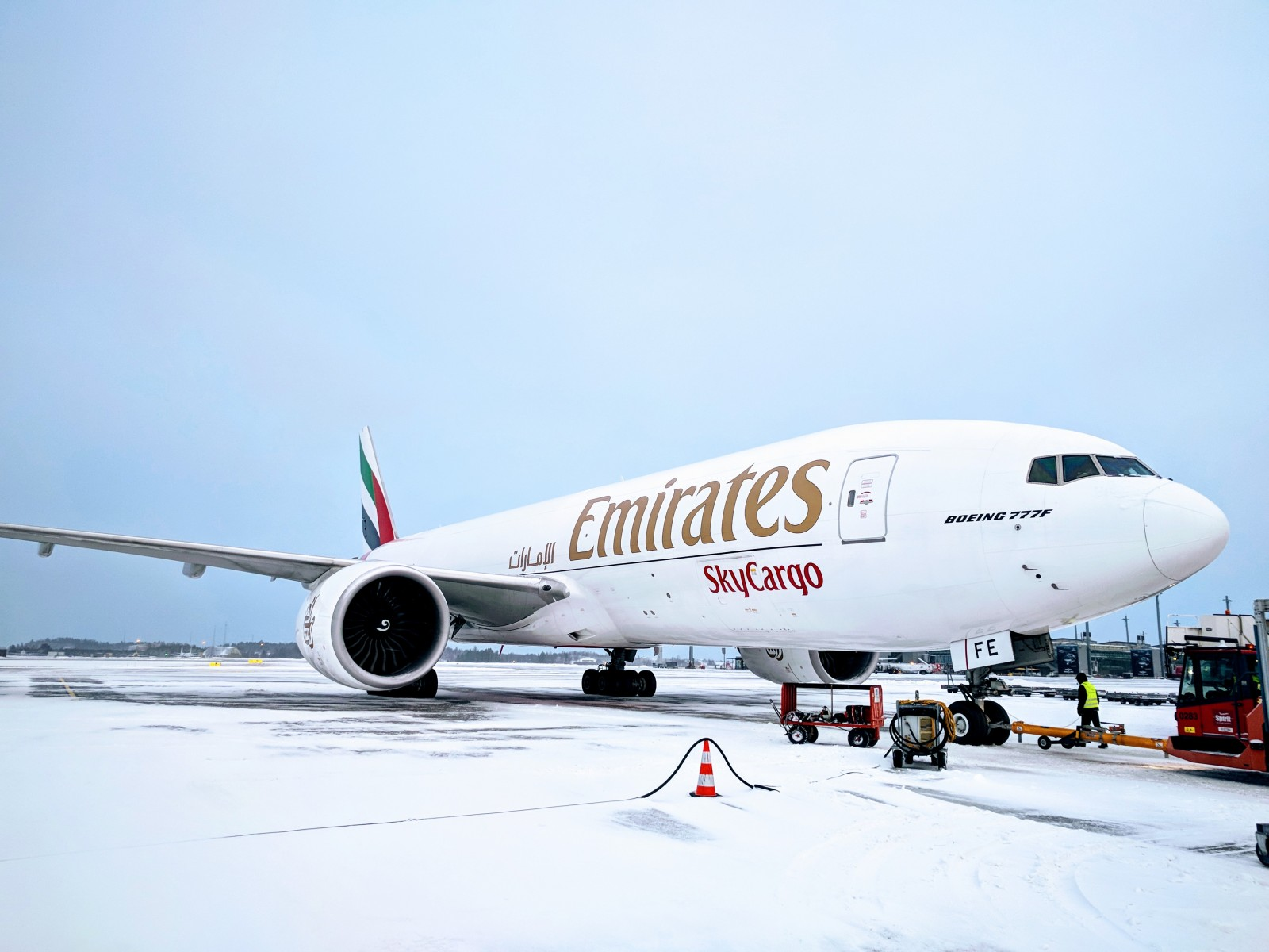 Emirates SkyCargo celebrates 5 years of operations to Norway and Belgium