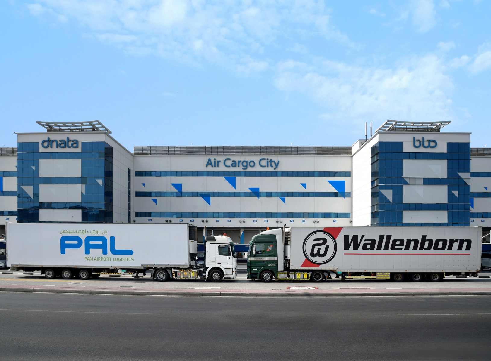 dnata joins forces with leading air-cargo road feeder services provider Wallenborn