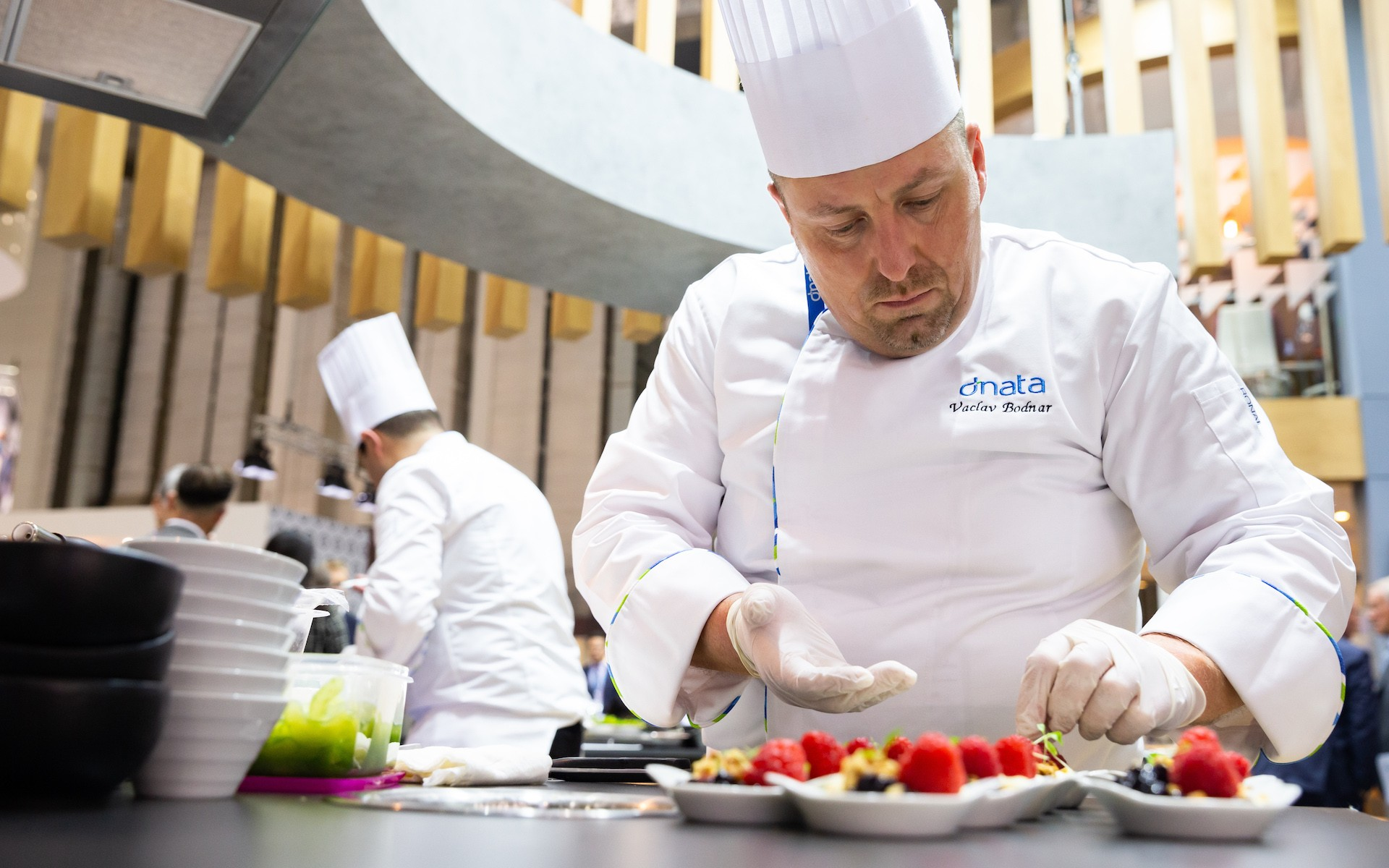 Vasek Bodnar, Executive Chef, dnata Czech Republic