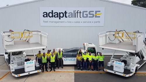 dnata Australia signs long term agreement with Adaptalift GSE
