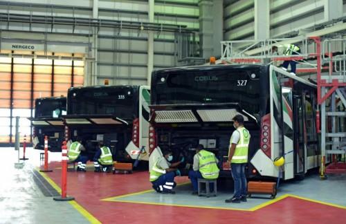 dnata opens new bus maintenance facility at Dubai International (DXB)