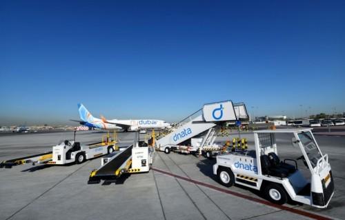 dnata successfully completes green turnaround of flydubai's aircraft at Dubai International (DXB)