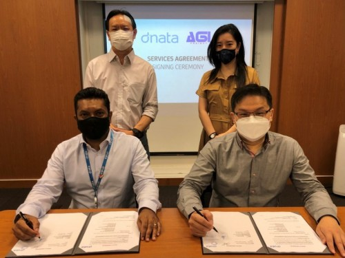 dnata Singapore signs Service Agreement with AGI Freight