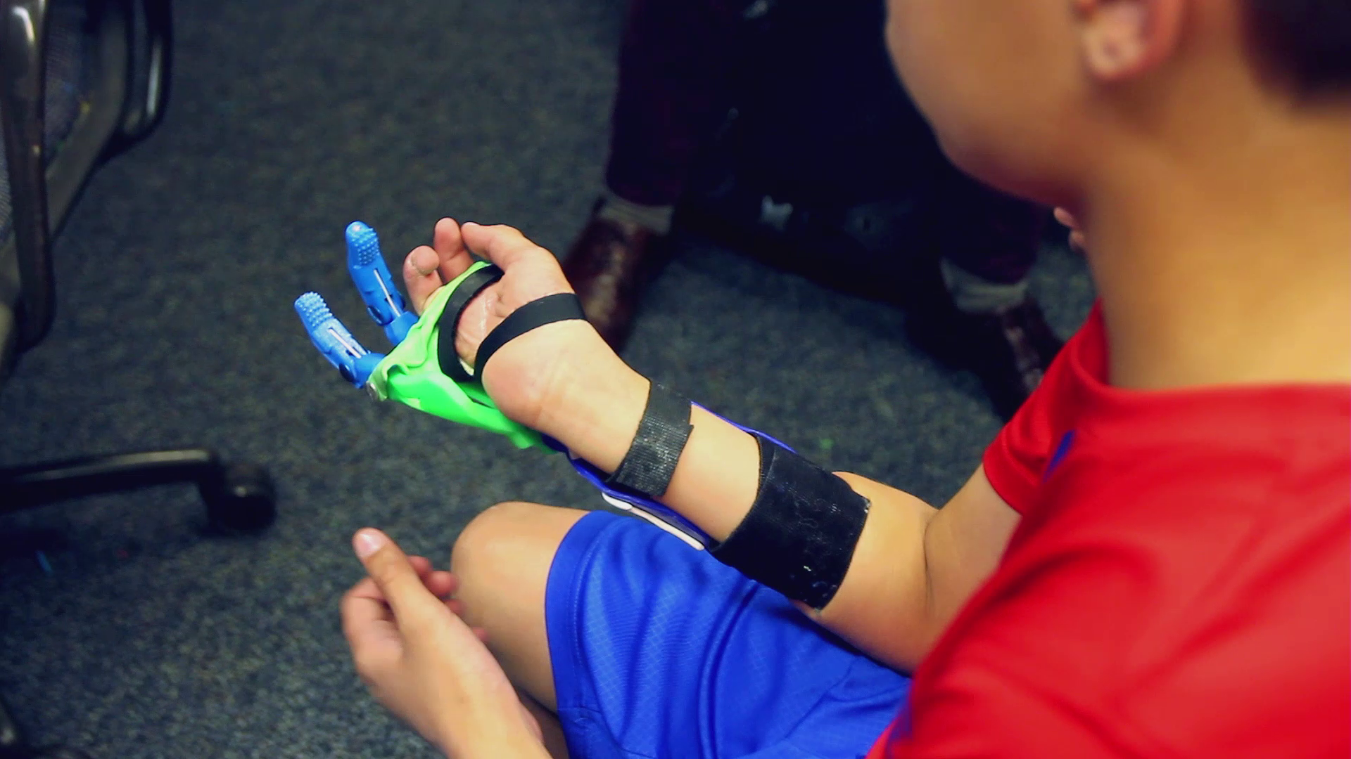 Nebraska university students design and create 3D printed hand devices thanks to Ultimaker