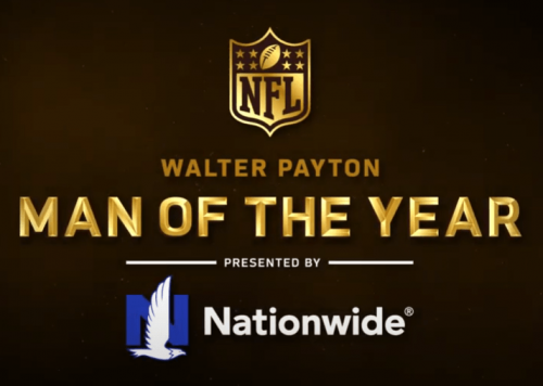 Nationwide enlists Walter Payton NFL Man of the Year award winners, nominees to support NFL's pandemic relief efforts