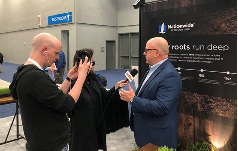Brad Liggett, president of Nationwide Agribusiness, interviewed with RFD-TV.