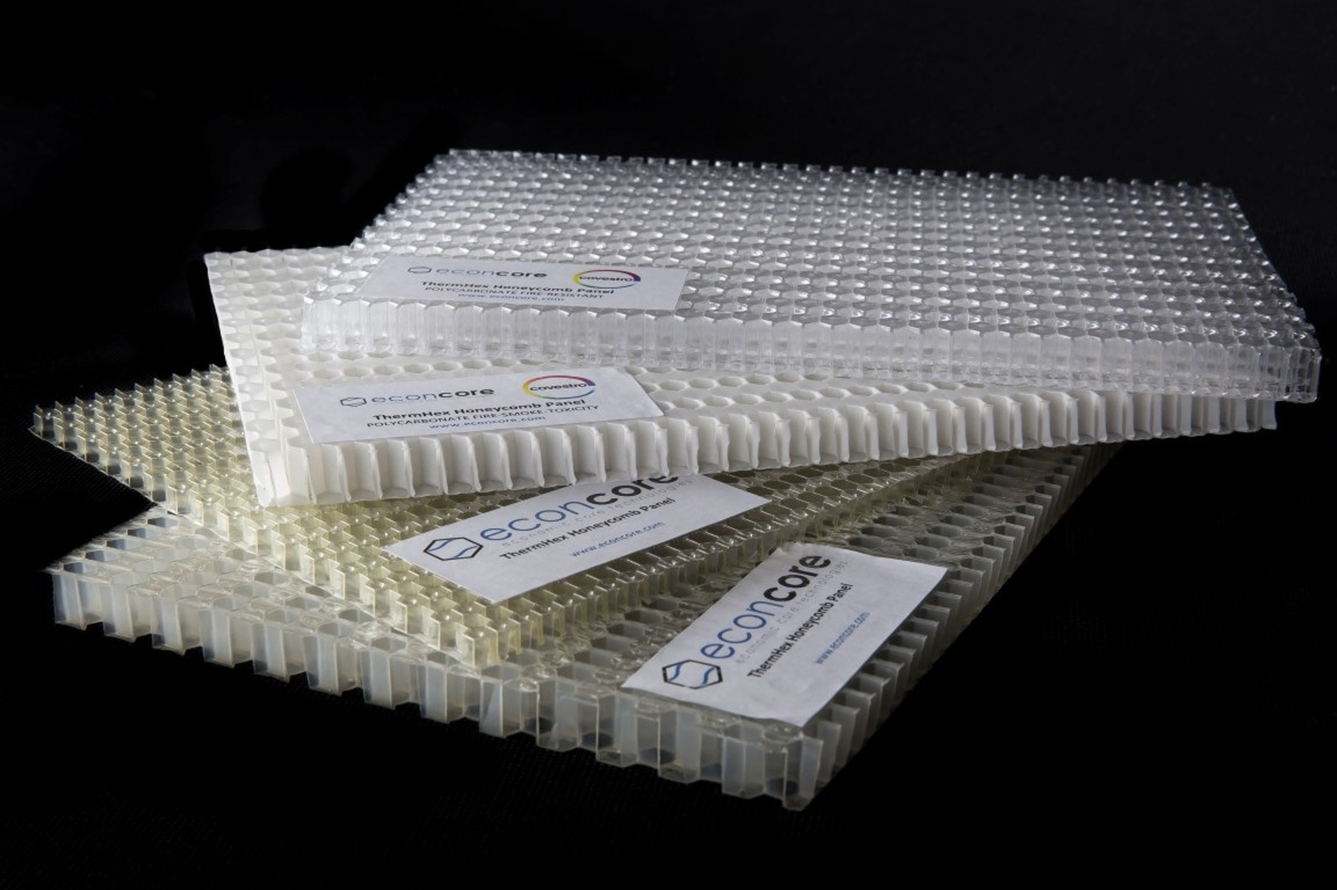 Strong and lightweight honeycomb panels