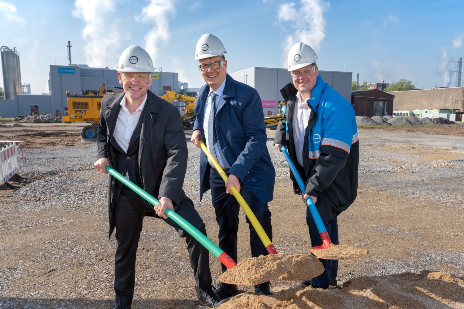 Cornerstone laid for new coextrusion lines
