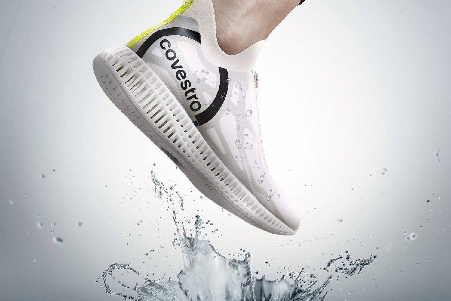 Running shoe by Covestro and Axis Liu
