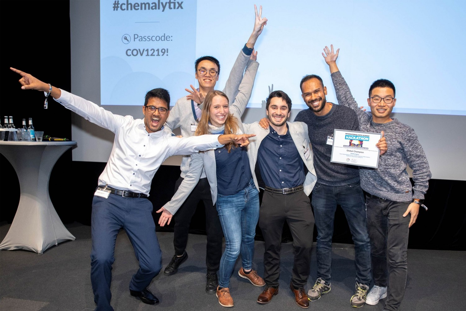 """Data Science Hackathon"" Winner"