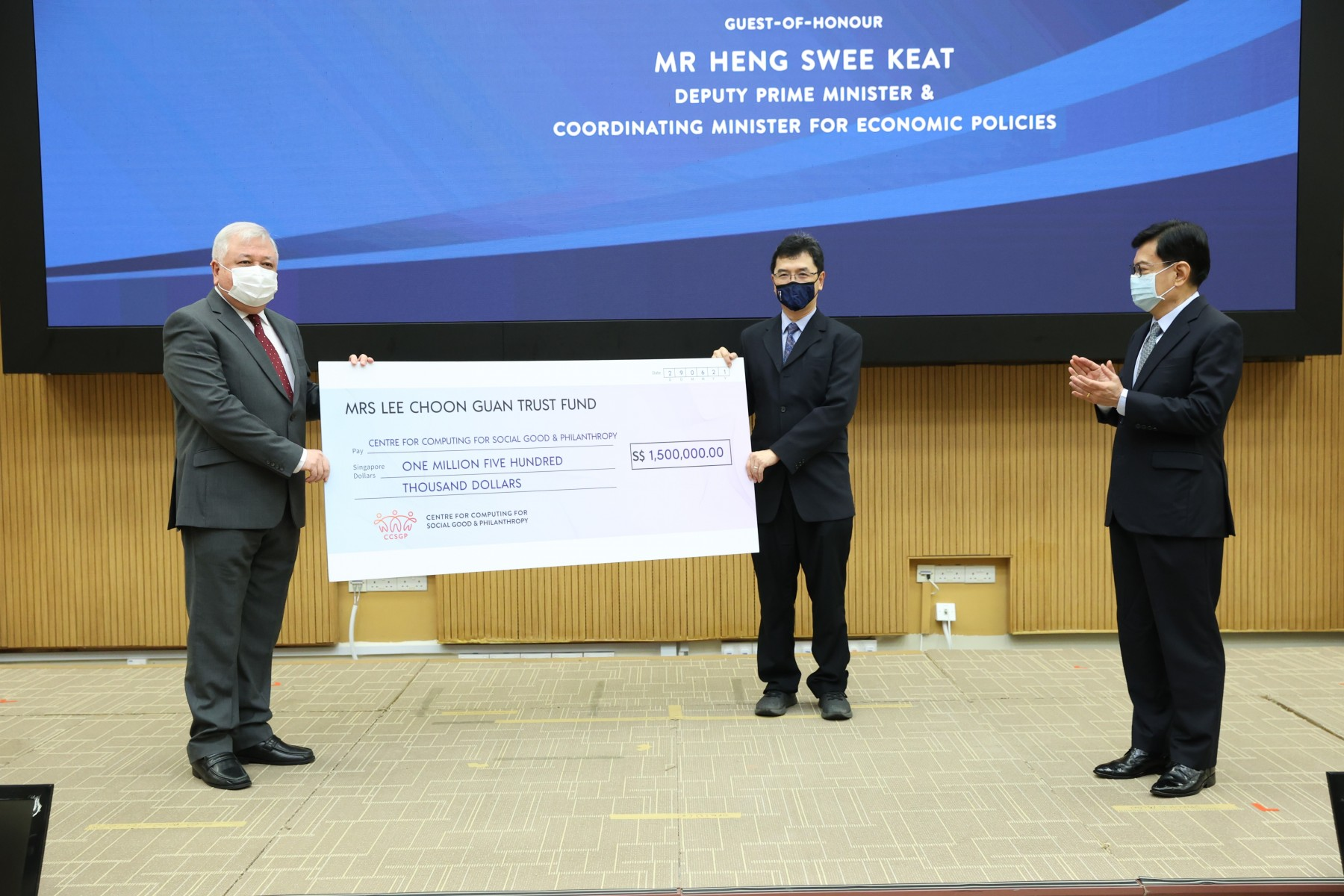 2021 0629 New Centre for Computing for Social Good & Philanthropy launched_1