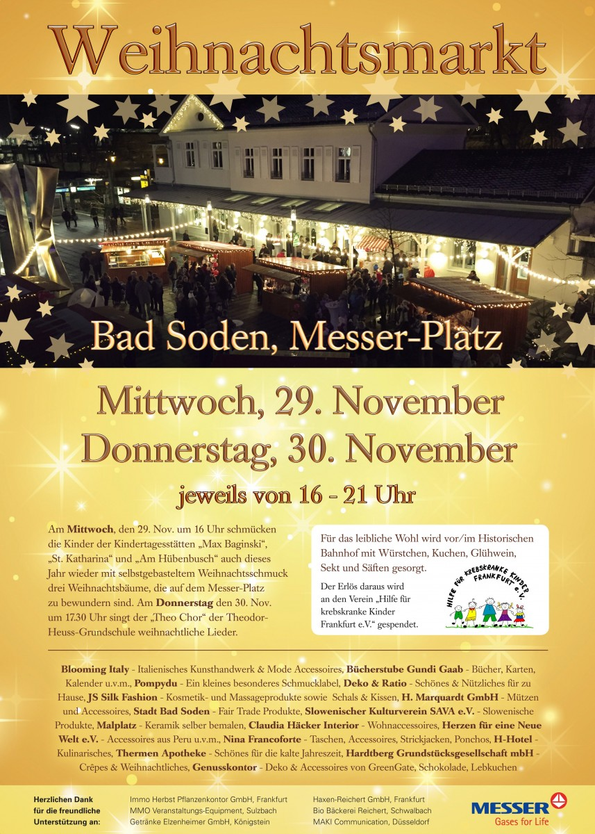 Press release_11/17/2017_Weihnachtsmarkt Poster