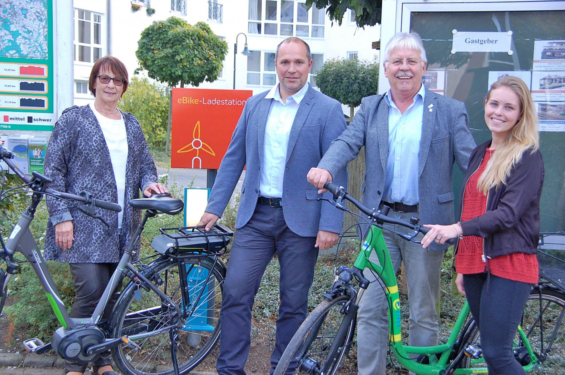 innogy E-Bike Ladesäule in Gillenfeld