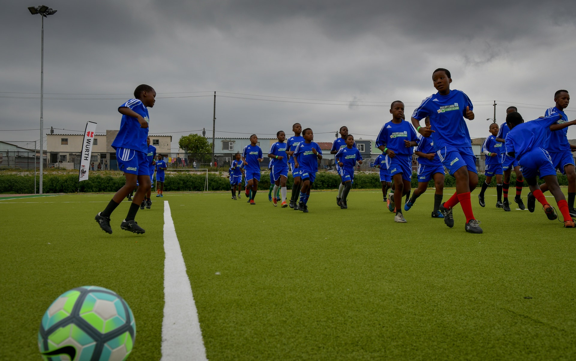 New soccer field opened in Cape Town with the support of the Würth Foundation