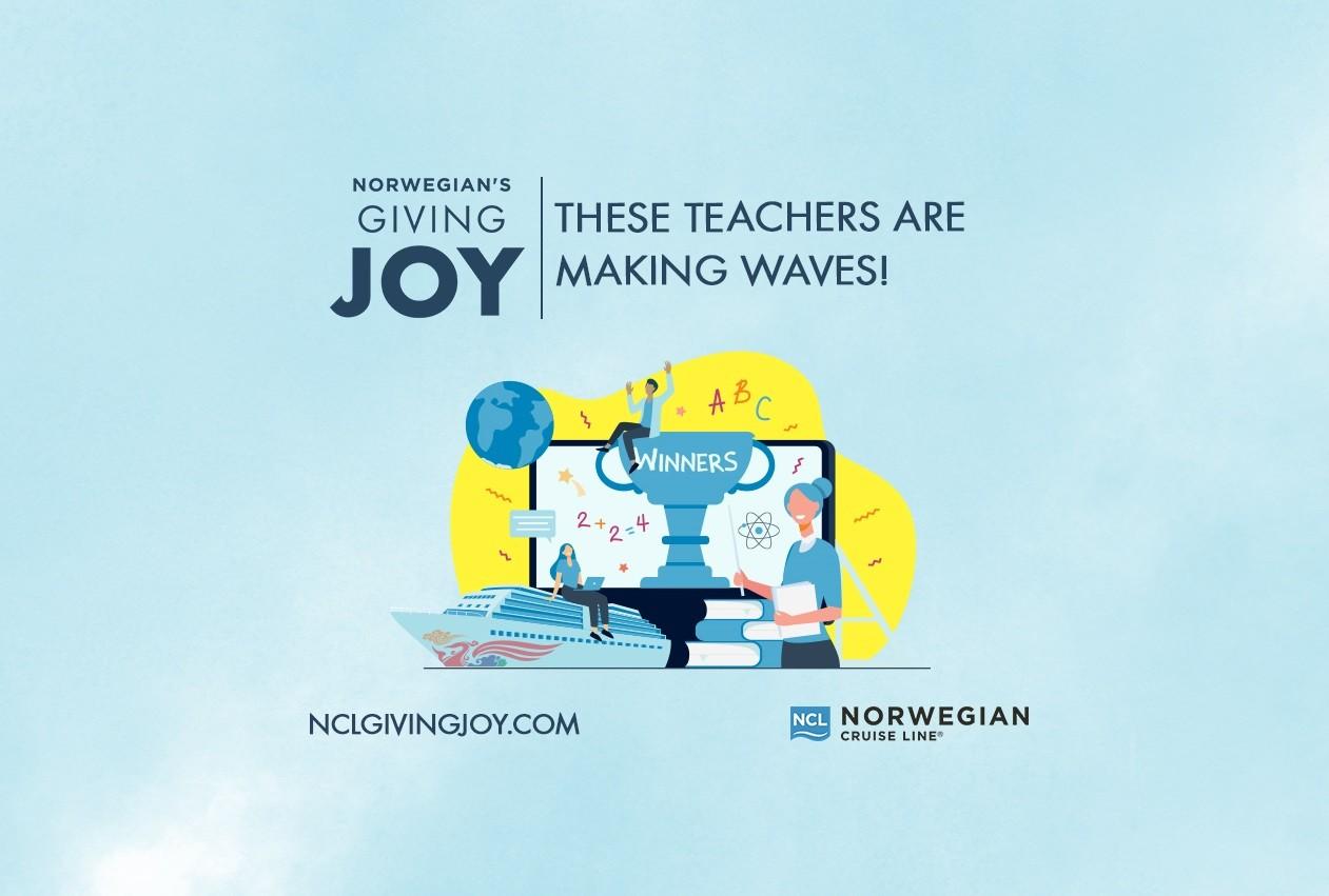 <div>'Norwegian's Giving Joy™' Contest Winners Announced</div>