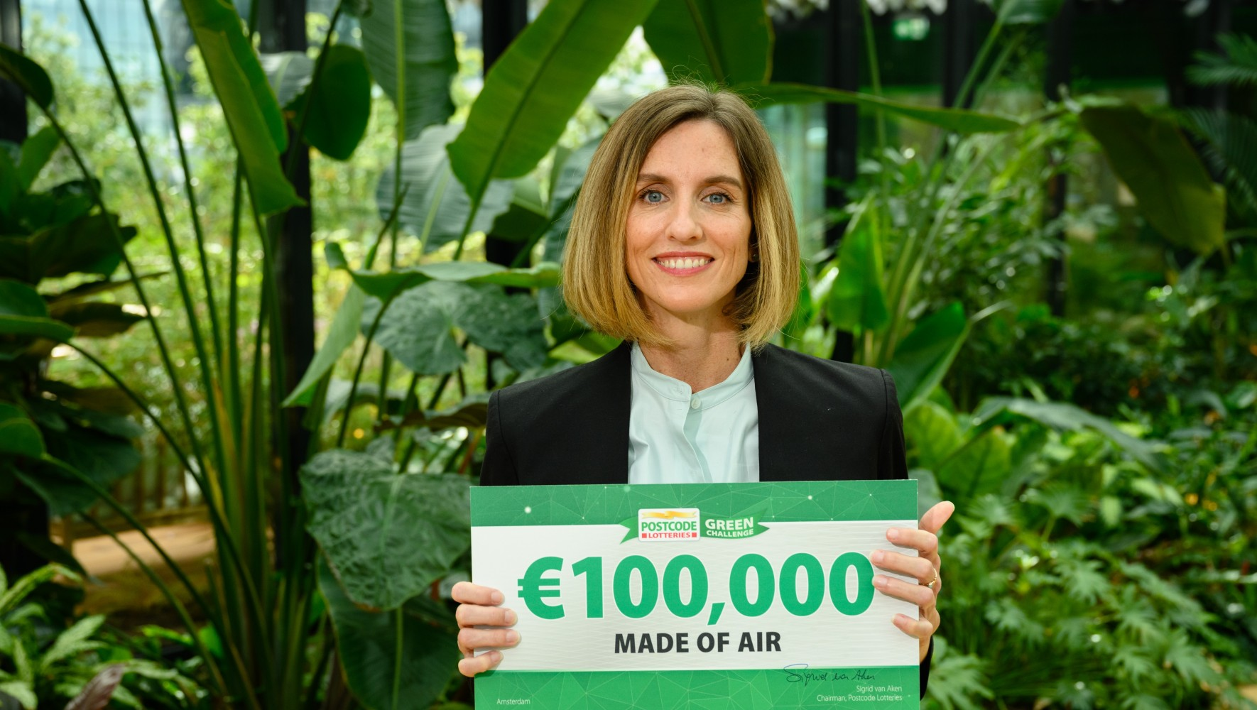 Allison Dring von Made of Air  - Postcode Lotteries Green Challenge 2020 © Roy Beusker