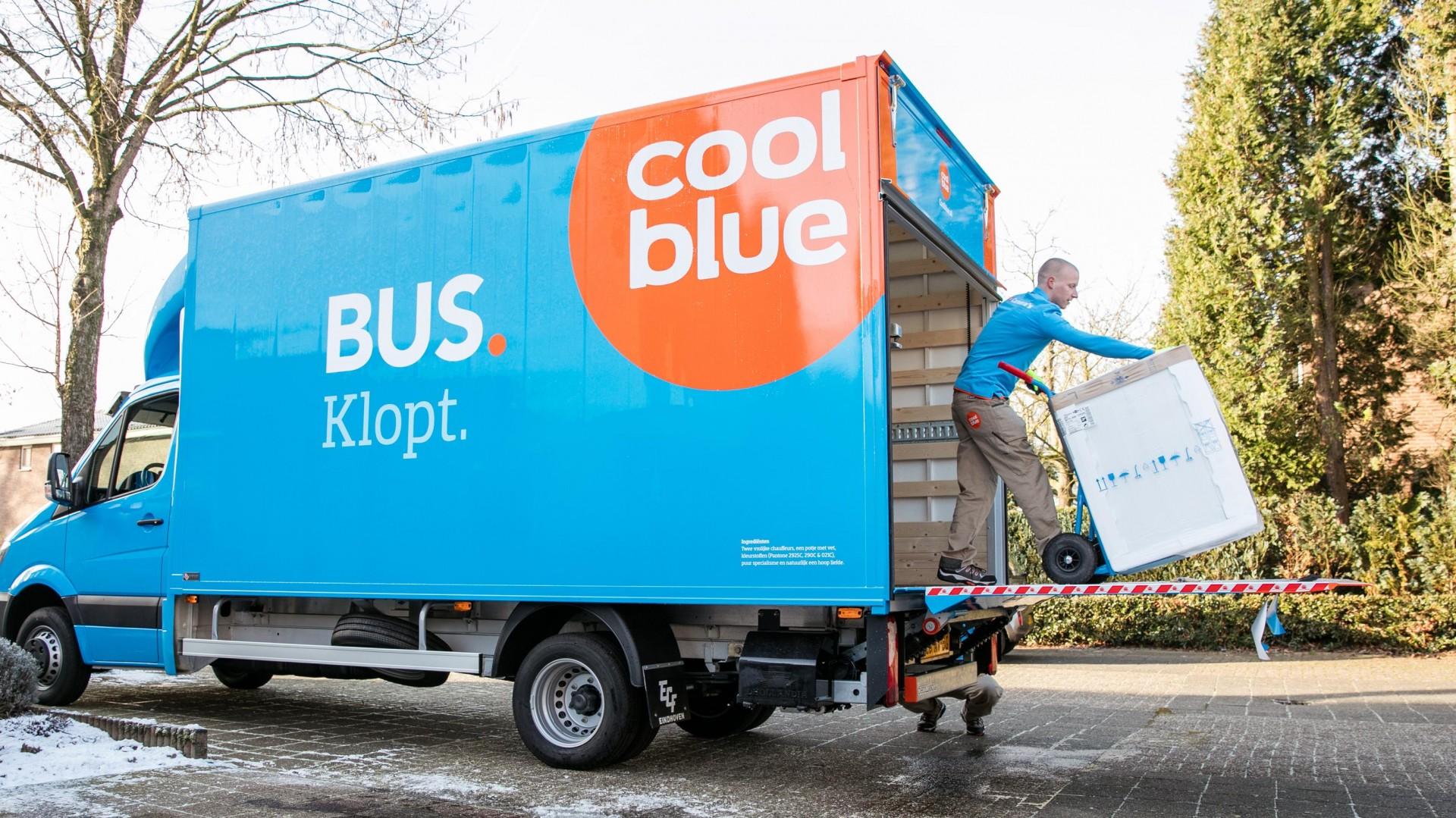 CoolblueBezorgt: Coolblue start met uitrol witgoedbezorging