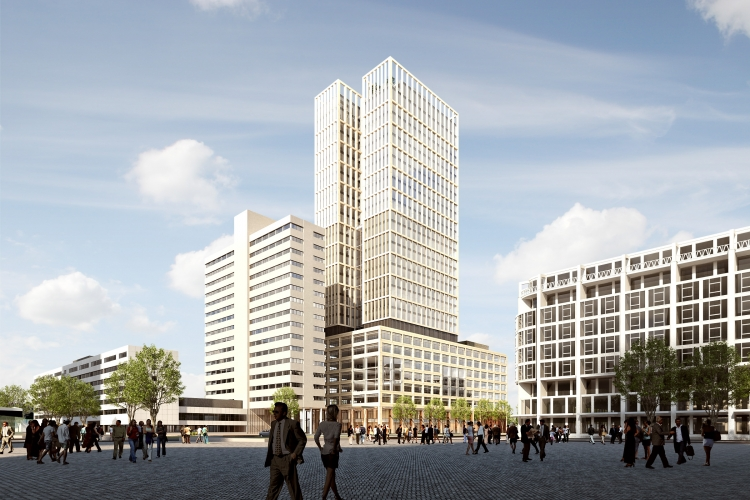 Artist Impression FIRST-gebouw